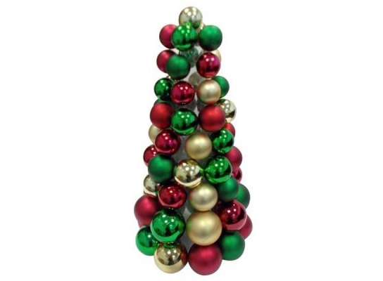 Новогодняя елка с игрушками Санта 46см фото