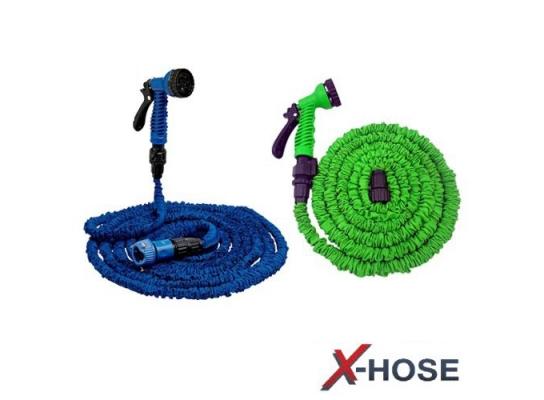 Шланг для полива Xhose 60м с распылителем фото 2