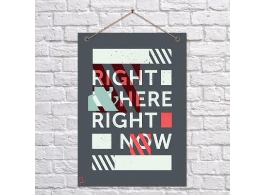 Постер Здесь и сейчас фото