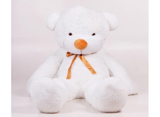 Плюшевый медведь Тедди 180 см Белый фото 2