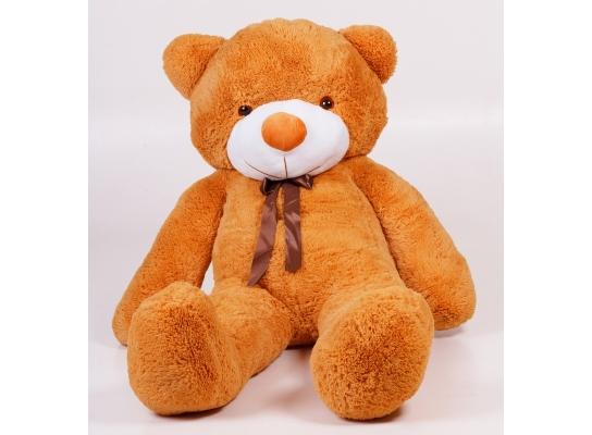 Плюшевый медведь Тедди 180 см Карамельный фото 2