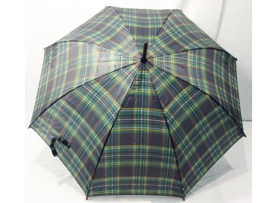 Зонт трость в клеточку фото