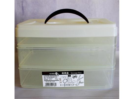 Пластиковый бокс-контейнер с крышкой 3 в 1 фото