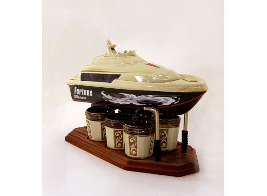 Подарочный набор для алкогольных напитков Яхта фото