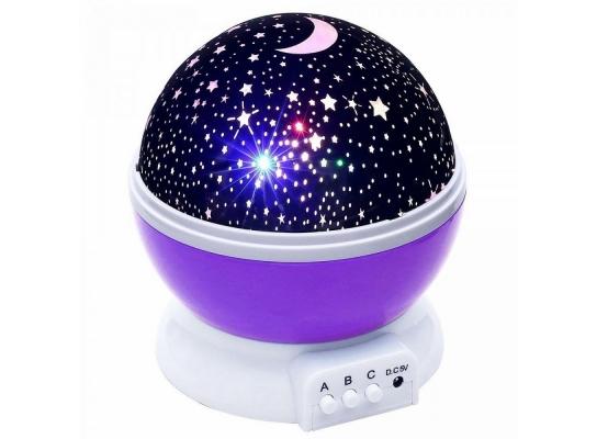 Проектор звездного неба Star Master Dream фиолетовый фото 3