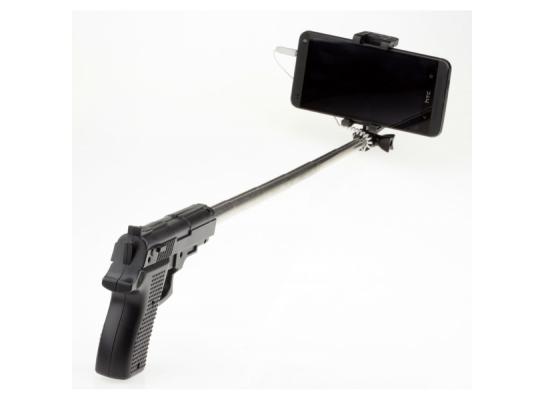Монопод - палка для селфи Пистолет фото
