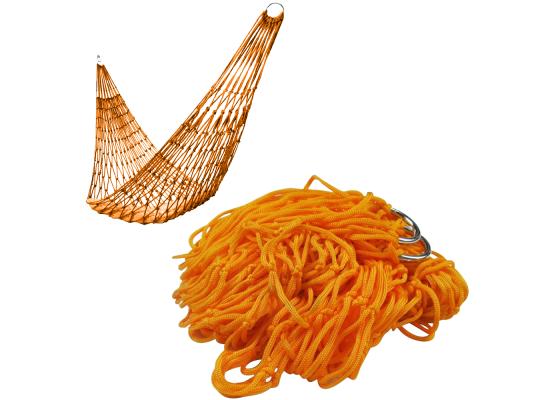 Гамак сетка Оранжевый фото