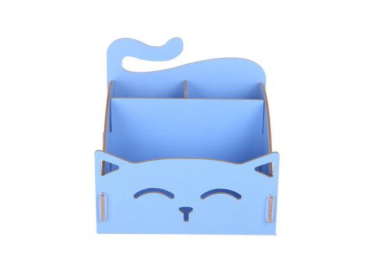 Органайзер для косметики My Cat Голубой фото