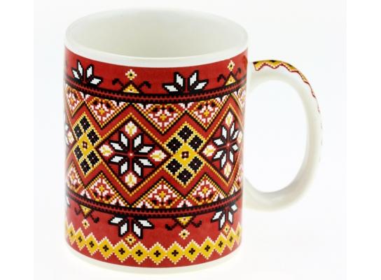 Чашка вышиванка фото