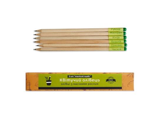 Растущие карандаши набор итальянских трав из 6 шт. фото 3