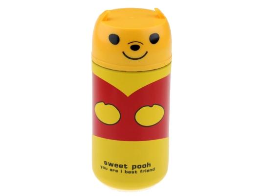 Термос детский Медвежонок 250 мл желтый фото