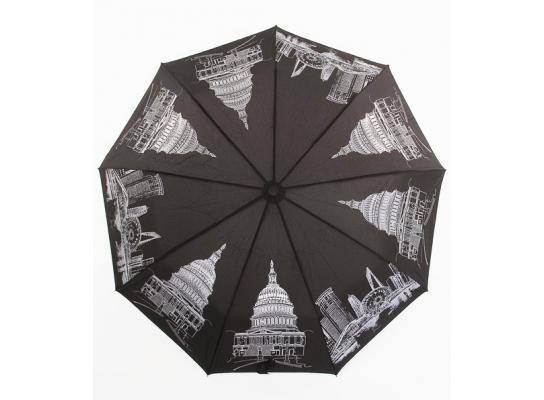 Женский зонт Star Rain Города автомат 9 спиц фото 4