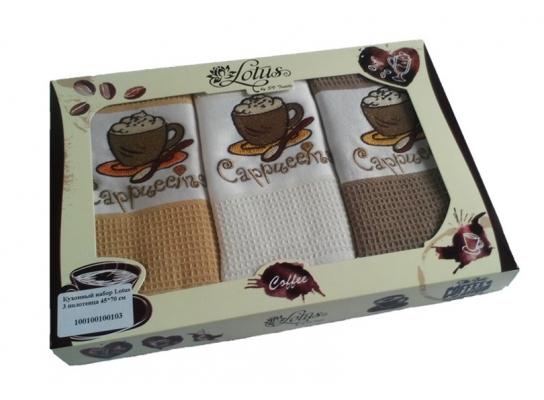 Кухонные полотенца Cappuccino Lotus фото