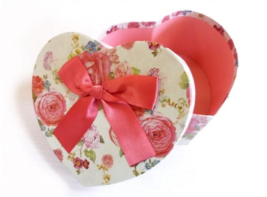 Подарочная коробочка Сердце большое фото 1