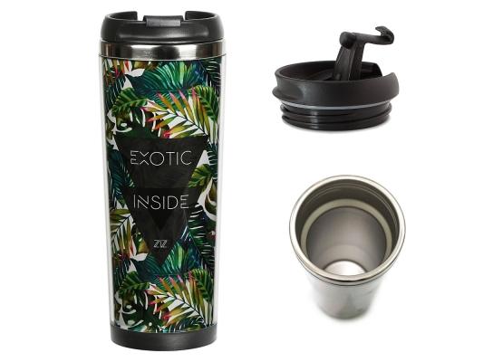 Термокружка Пальмовые листья фото