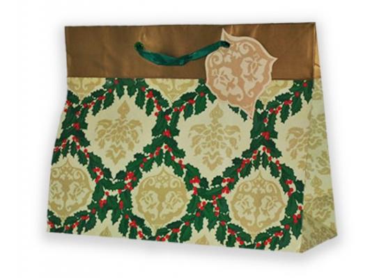 Подарочный пакет 25х21,5х10 см Weave фото