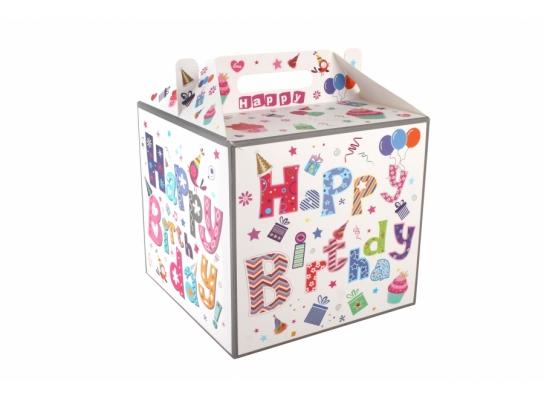Коробка подарочная Happy Birthday фото