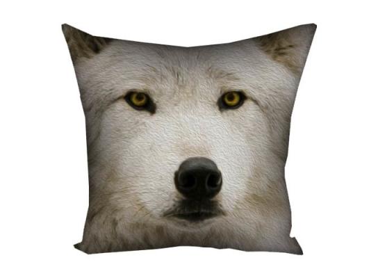Подушка Волчица фото