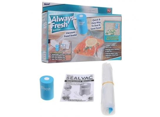Вакуумный упаковщик для еды Vacuum Sealer Always Fresh фото