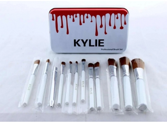 Кисточки для макияжа Make up brush set Белые фото