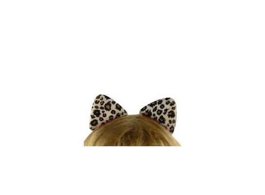 Заколка для волос Ушки леопарда фото