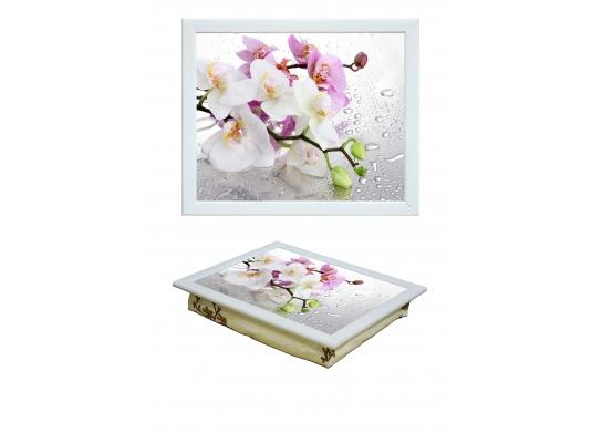 Поднос с подушкой Орхидея фото