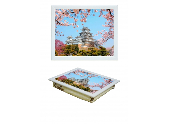 Поднос с подушкой Япония фото