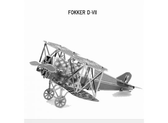 3D конструктор Немецкий самолет Fokker D.VII фото