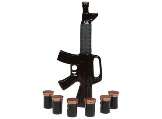 Подарочный набор для алкогольных напитков M16 фото