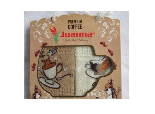 Подарочный набор полотенец Кофе фото