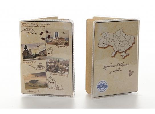 Оригинальная обложка на паспорт своими руками