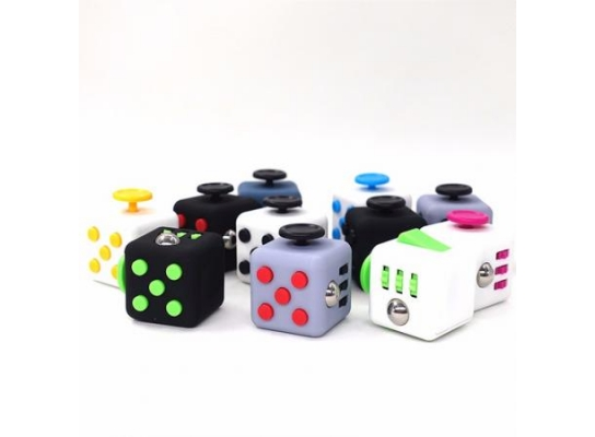 Кубик антистресс с кнопками фото