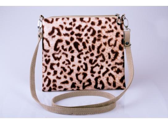 Женский клатч Леопард фото