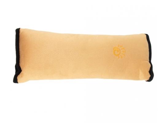 Подушка-накладка на ремень безопасности под голову Желтая фото 8