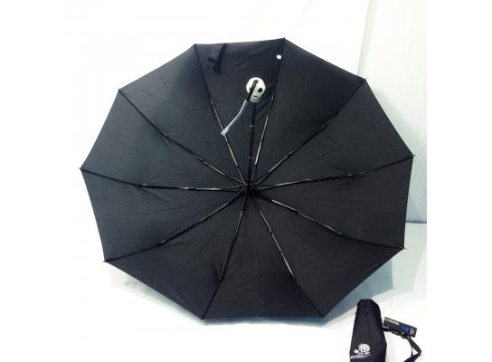 Мужской зонт автомат Евро Серебряный дождь фото