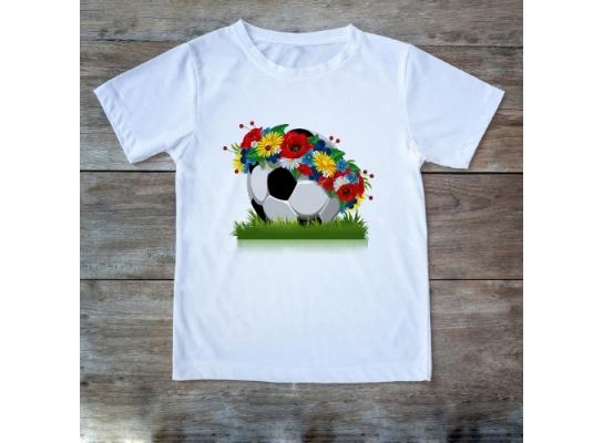 Футболка Мяч с венком фото, купить, цена