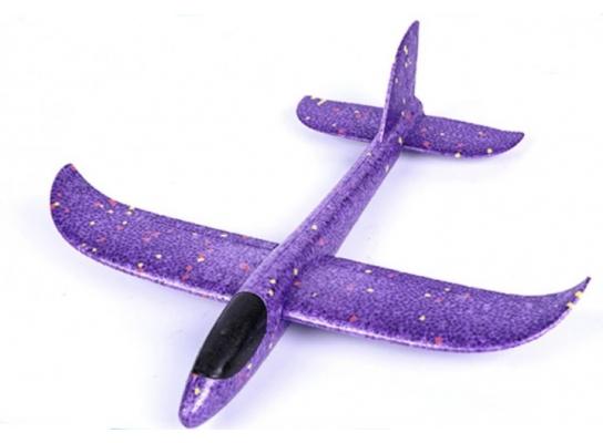 Планер метательный EXPLOSION фиолетовый, размах крыльев 49 см. фото 1