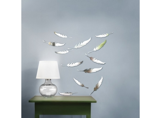 Декоративное акриловое зеркало Легкость фото