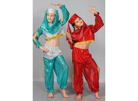 Детский карнавальный костюм Восточная красавица фото 1