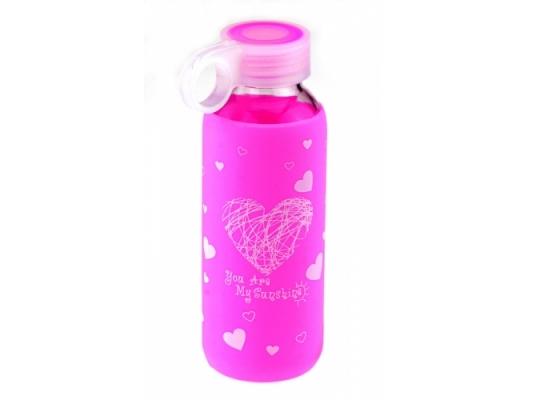 Бутылка Color Heart фото