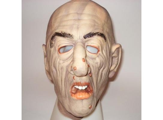 Карнавальная маска резиновая Бородавка фото