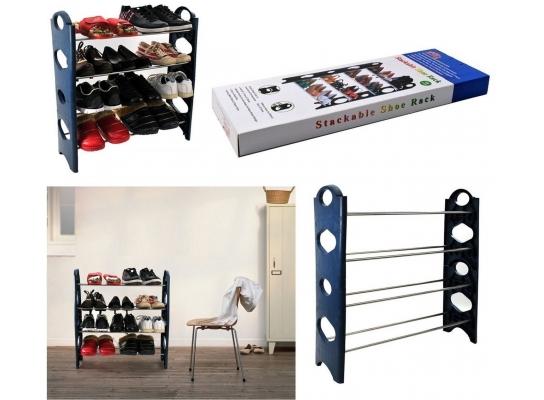 Органайзер для обуви Stackable Shoe Rack фото