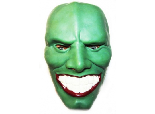 Карнавальная маска резиновая Маска фото