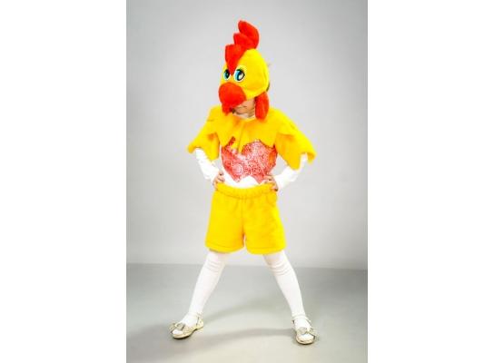Карнавальные костюм Петушок парча фото