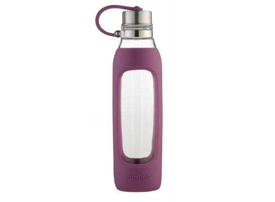 Бутылка стеклянная для воды Radiant Orchid Contigo фото
