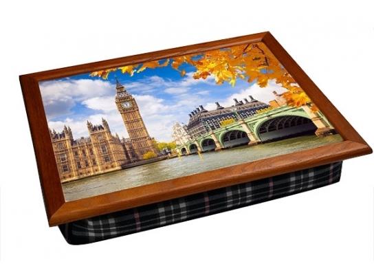 Поднос на подушке Лондон фото