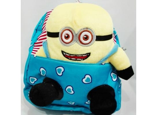 Рюкзак детский с игрушкой Миньон фото
