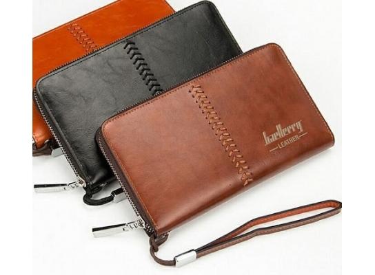 Мужской портмоне Baellerry Leather фото