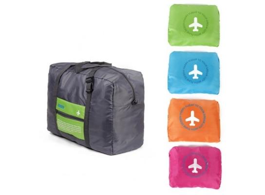 Складная в карман сумка спортивная, дорожная фото