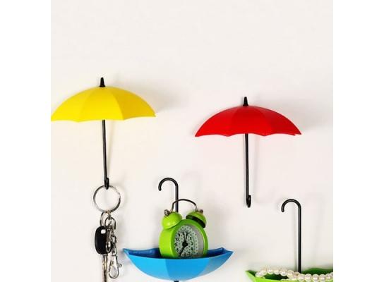 """Крючок - ключница универсальная """"Зонтики"""" для ключей, очков и мелочей фото, купить, цена"""